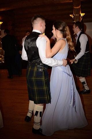 girl and boy dancing